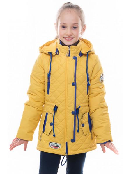 Куртка Жанин демисезонная (желтый)