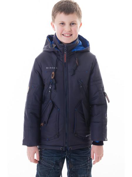 Куртка-парка Winner демисезонная (т.синий)
