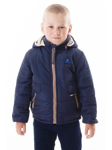 Куртка Данил демисезонная (т.синий)