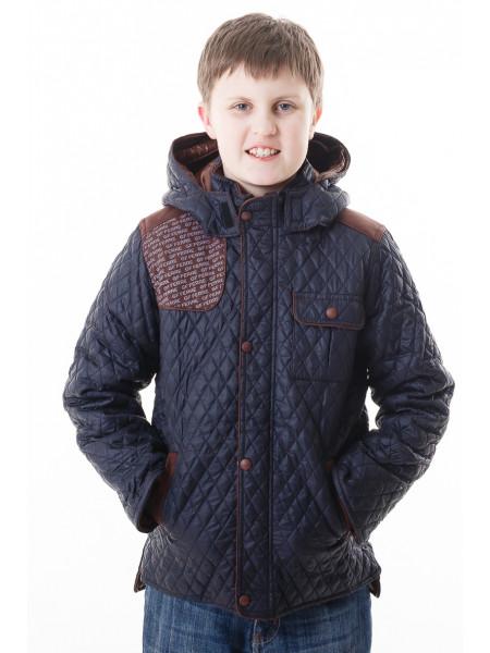 Куртка-парка Итан демисезонная (синий)