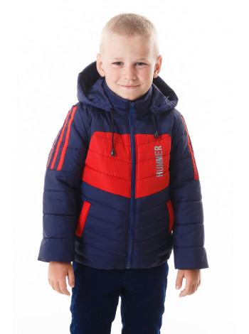 Куртка Хамфри демисезонная (синий/красный)
