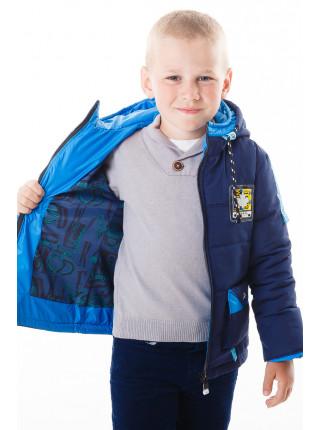 Куртка Эдвард демисезонная (синий/голубой)