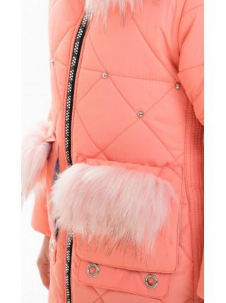 Зимняя куртка РЕВМИРА д/дев (коралл)
