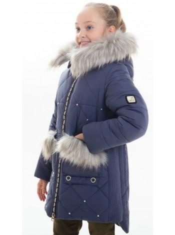 Зимняя куртка РЕВМИРА д/дев (джинс)