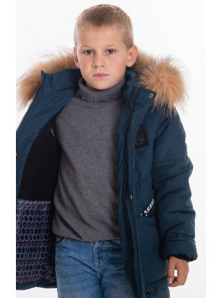 Куртка зимняя РАДИМ д/мальчика (бутылка)