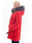 Куртка ЭСТЕР зимняя (красный)