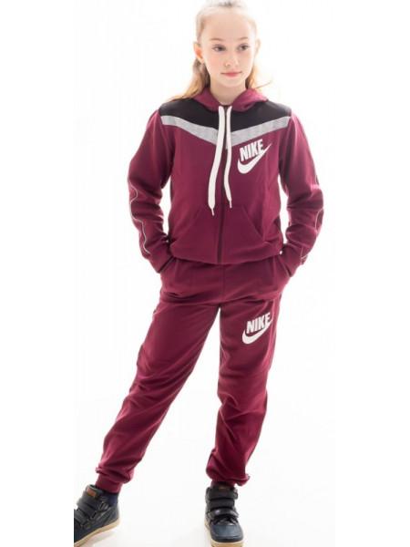 Детский спортивный костюм Нэнси (бордо)