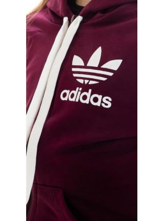 Подростковый спортивный костюм Аделаида (бордовый)