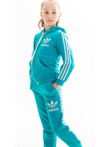 Костюм спортивный для девочки Аделаида (голубой)