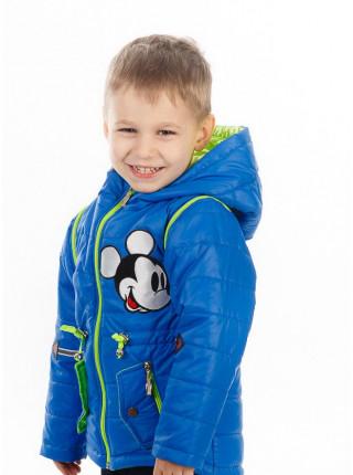 Куртка-жилет НАШИВКА демисезонная (электрик)