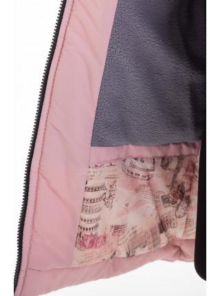 Куртка БРИАННА зимняя (розовый)