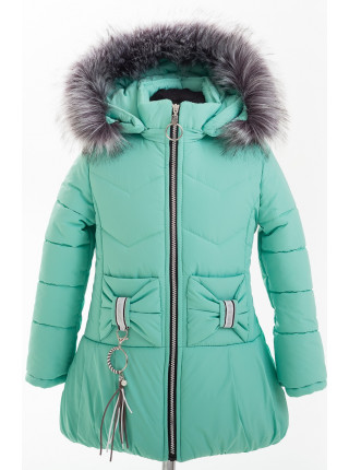 Куртка БРИАННА зимняя (мята)