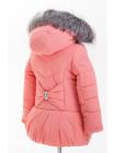 Куртка БРИАННА зимняя (персик)