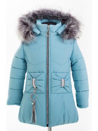 Куртка БРИАННА зимняя (голубой)