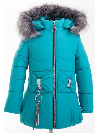 Куртка БРИАННА зимняя (бирюза)
