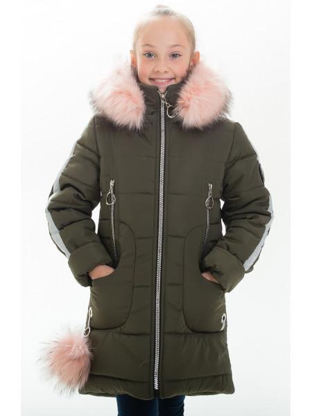 Куртка ИВАННА зимняя (хаки)
