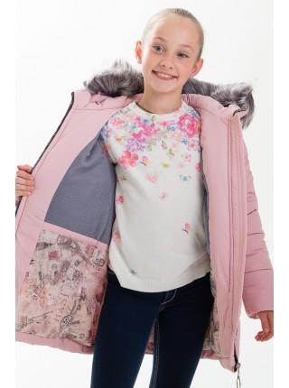 Куртка ЛИАНА зимняя (розовый)