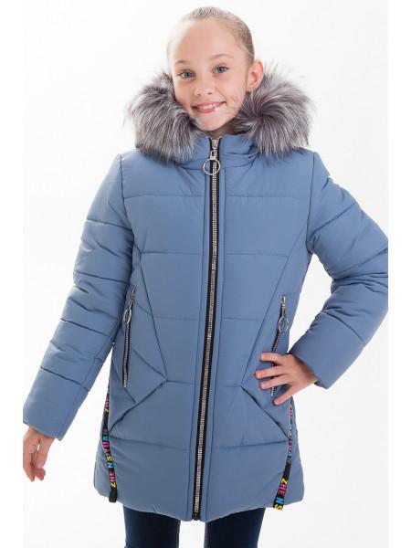 Куртка ЛИАНА зимняя (голубой)