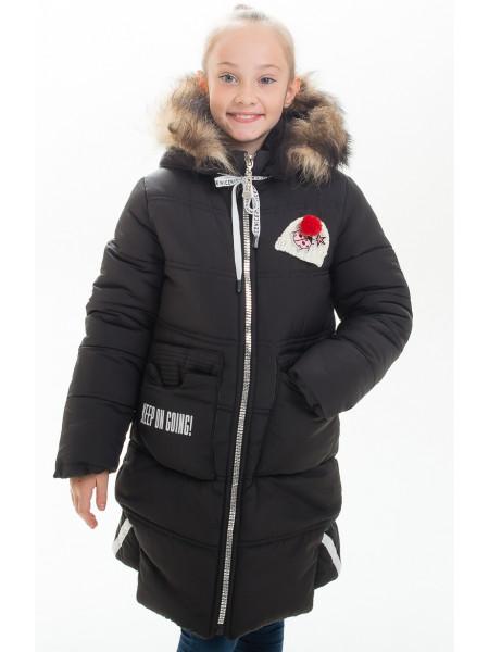 Куртка АЛАННА зимняя (черный)