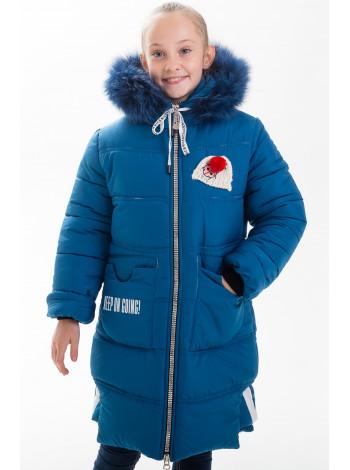 Куртка АЛАННА зимняя (мор.волна)