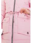 14602 Куртка НИККИ зимняя (розовый)