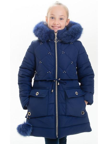 Куртка НИККИ зимняя (синий)