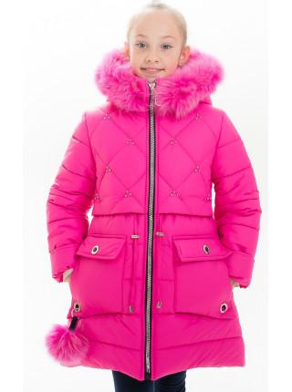 Куртка НИККИ зимняя (яр.розовый)