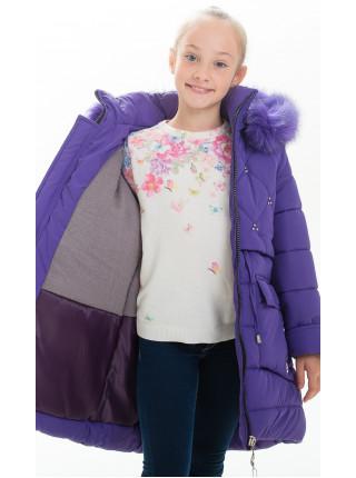 Куртка НИККИ зимняя (фиолетовый)