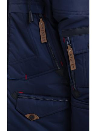 Куртка ВЕНЯ-2 зимняя д/мал(синий/электрик)